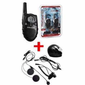 ALAN midland G5 BICKER CB PORTABLE PACK 2 ALAN G5 TALKIE WALKIE