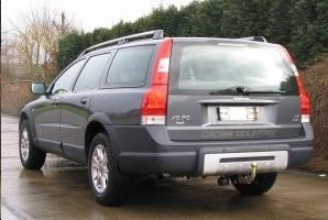 Attache remorque VOLVO XC70 2007- - RDSOH demontable sans outil - GDW-BOISNIER