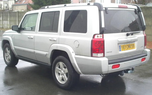 ATTELAGE JEEP COMMANDER 06/2005> - attache remorque ATNOR