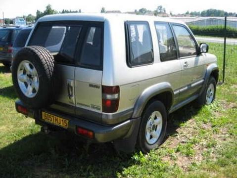 ATTELAGE OPEL MONTEREY 02/1993> LONG COURT - attache remorque ATNOR