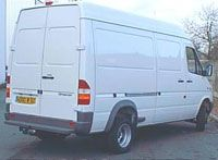 ATTELAGE MERCEDES SPRINTER COURT LONG 200D 300D 05/1995>04/2006 VW LT28 32 35