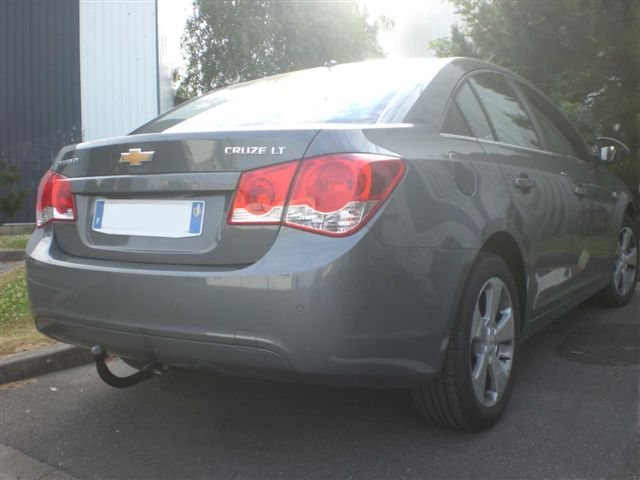 ATTELAGE CHEVROLET CRUZE 05/2009-> COL DE CYGNE - ATNOR attache re