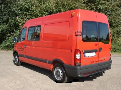 ATTELAGE NISSAN INTERSTAR FOURGON 12/1997-> COURT MOY LONG - attache remorque