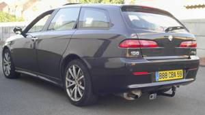 ATTELAGE ALFAROMEO 156 berline break COL DE CYGNE DECOUPE - attache remorque ATNOR