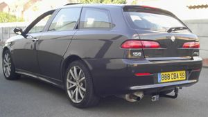 ATTELAGE ALFAROMEO 156 break COL DE CYGNE DECOUPE - attache remorque ATNOR