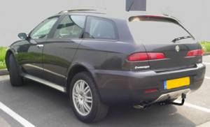 ATTELAGE ALFAROMEO Crosswagon Q4 2004 > - RDSO demontable sans outil - attache remorque WESTFALIA