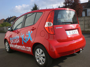 ATTELAGE SUZUKI SPLASH 04/2008-> - attache remorque ATNOR